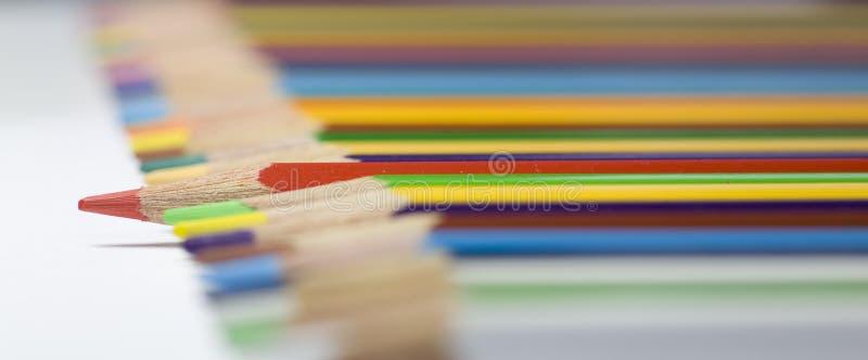 Gekleurde Potloden stock foto