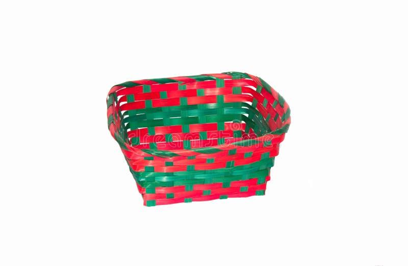 Download Gekleurde rieten mand stock afbeelding. Afbeelding bestaande uit creativiteit - 29509841