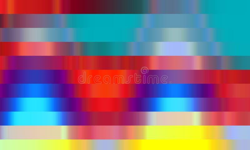 Gekleurde rode gele blauwe oranje vormen, achtergrond, textuur vector illustratie
