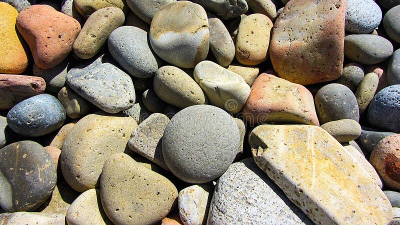 Gekleurde stenen royalty-vrije stock afbeelding