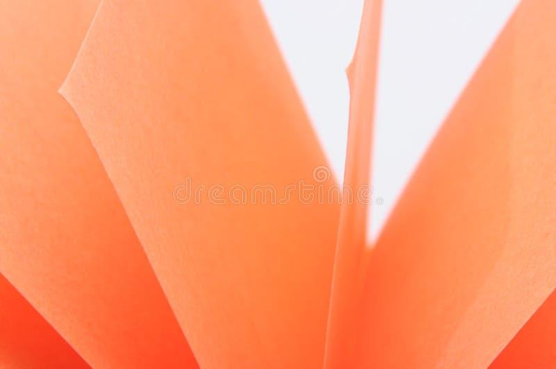 Gekleurde stukken van document stock afbeelding