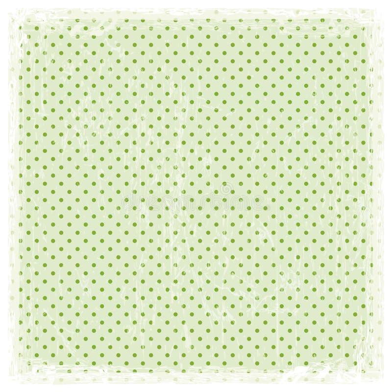 Gekleurde uitstekende achtergrond met wit kader vector illustratie