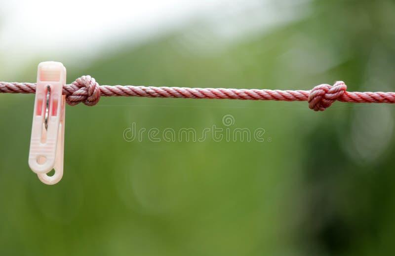 Geknotete Seile stockfotografie