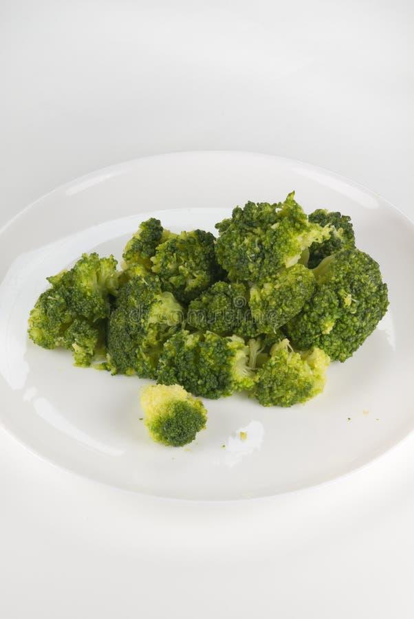 Gekochter Brokkoli stockfoto