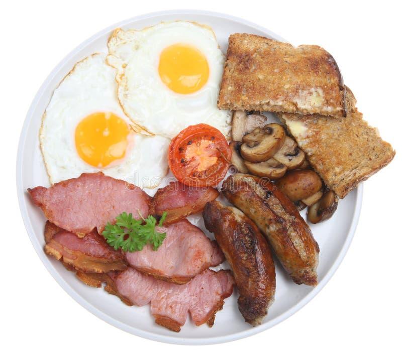 Gekochtes englisches Frühstück lizenzfreies stockbild