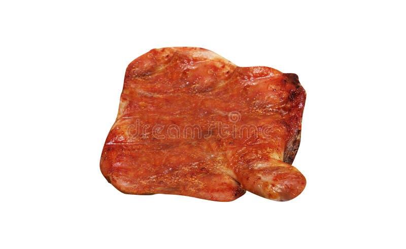 Gekochtes gebratenes Fleisch lizenzfreies stockbild
