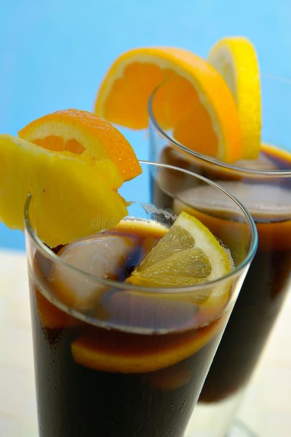 Gekoelde Koffie de Caraïben stock afbeeldingen