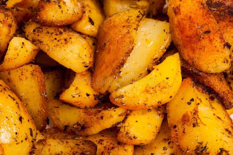Gekookte aardappels stock afbeelding