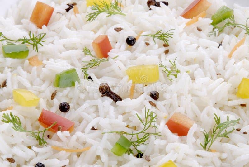 Gekookte Basmati Rijst stock foto's