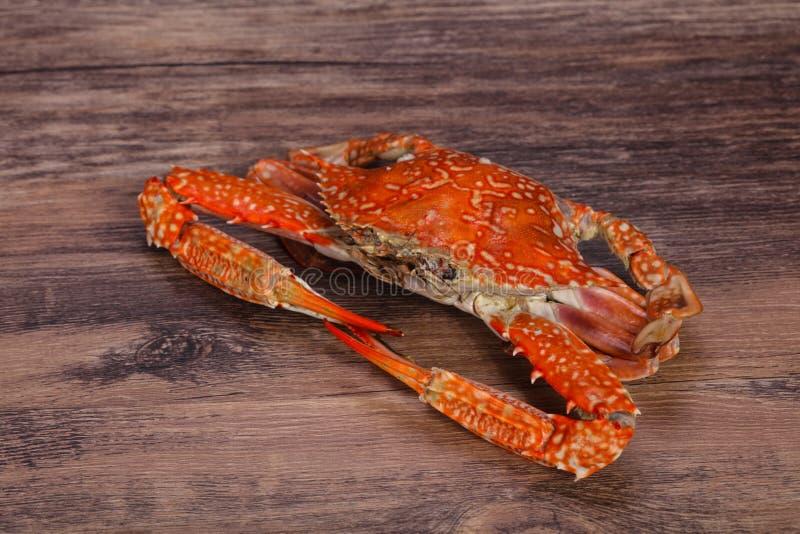 Gekookte krab - klaar voor eet royalty-vrije stock fotografie
