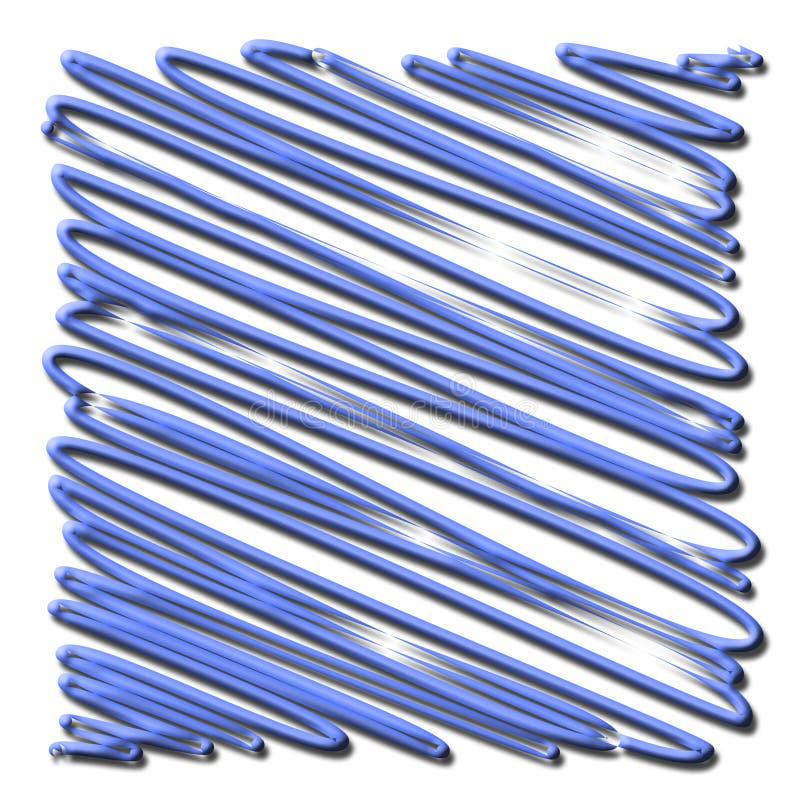 Gekrabbel vector illustratie