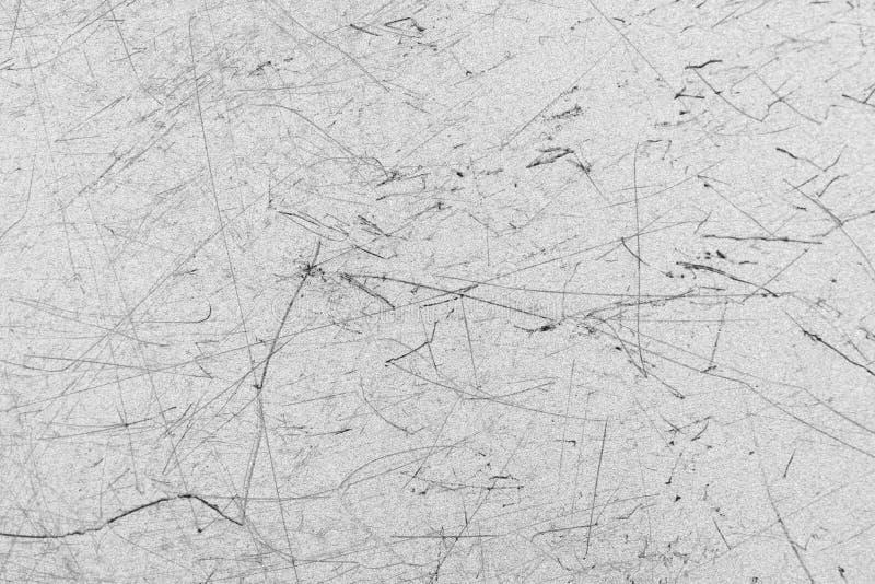 Gekrast metaal voor achtergrond en textuur, grunge stock afbeelding