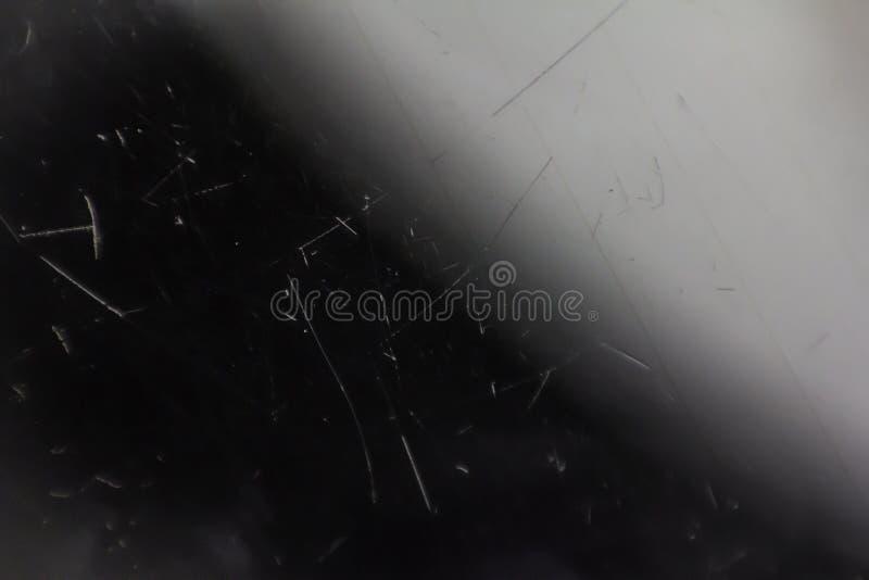 Gekraste glasoppervlakte als achtergrond stock foto's