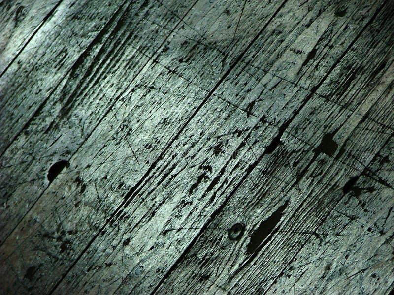 Gekraste houten textuur royalty-vrije stock afbeelding