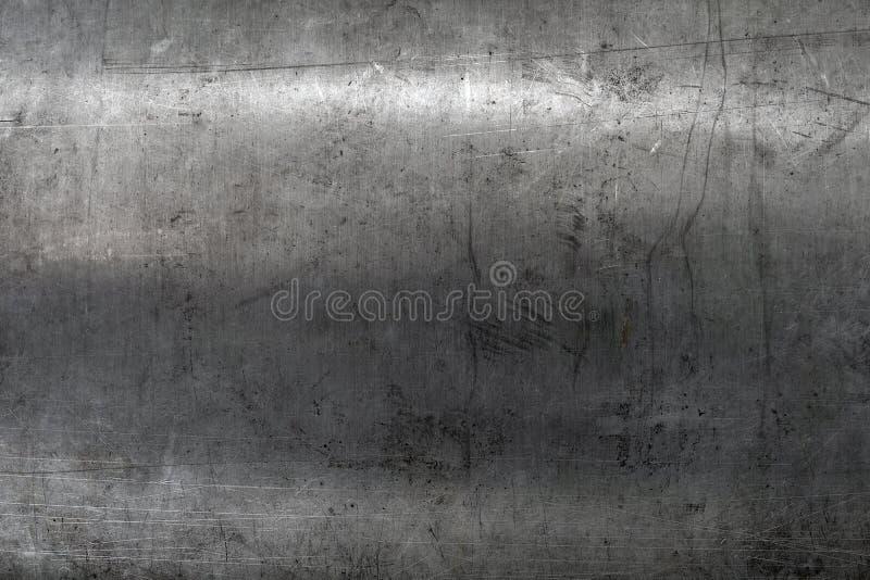 Gekraste staaltextuur royalty-vrije stock foto's