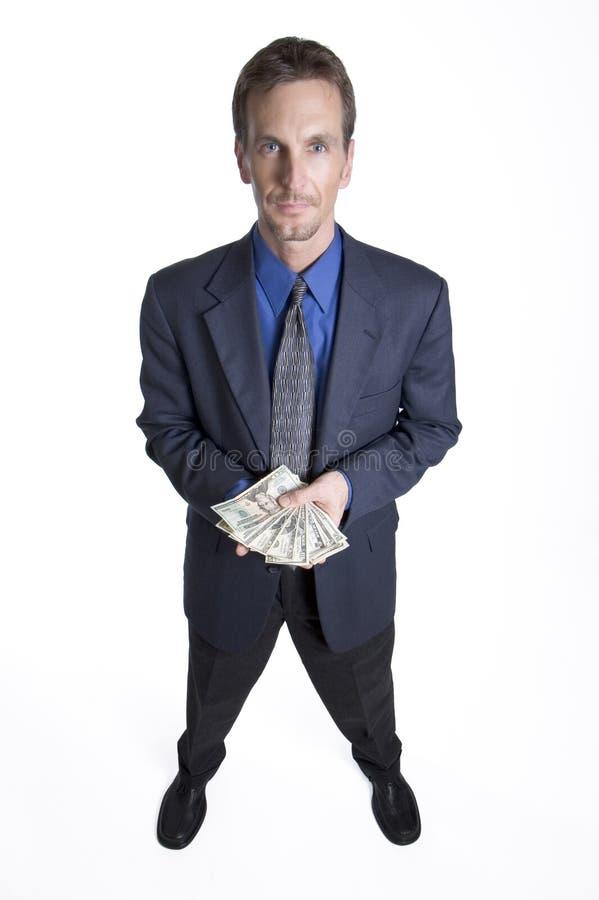 Download Gekregen geld? stock afbeelding. Afbeelding bestaande uit zakenman - 283401