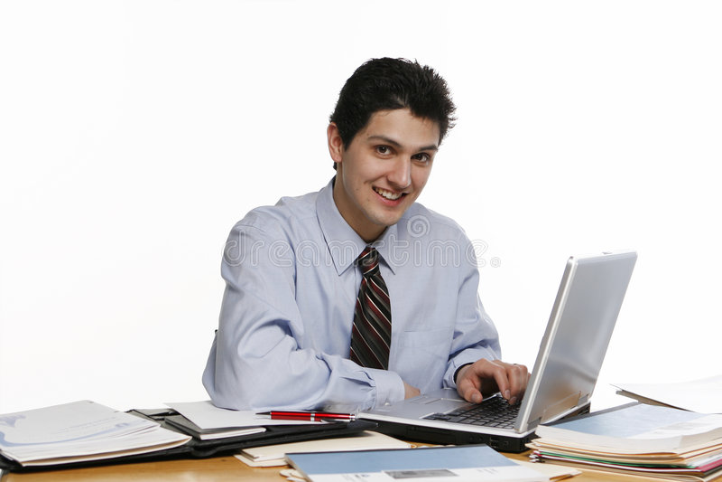 Gekregen Laptop? royalty-vrije stock afbeeldingen