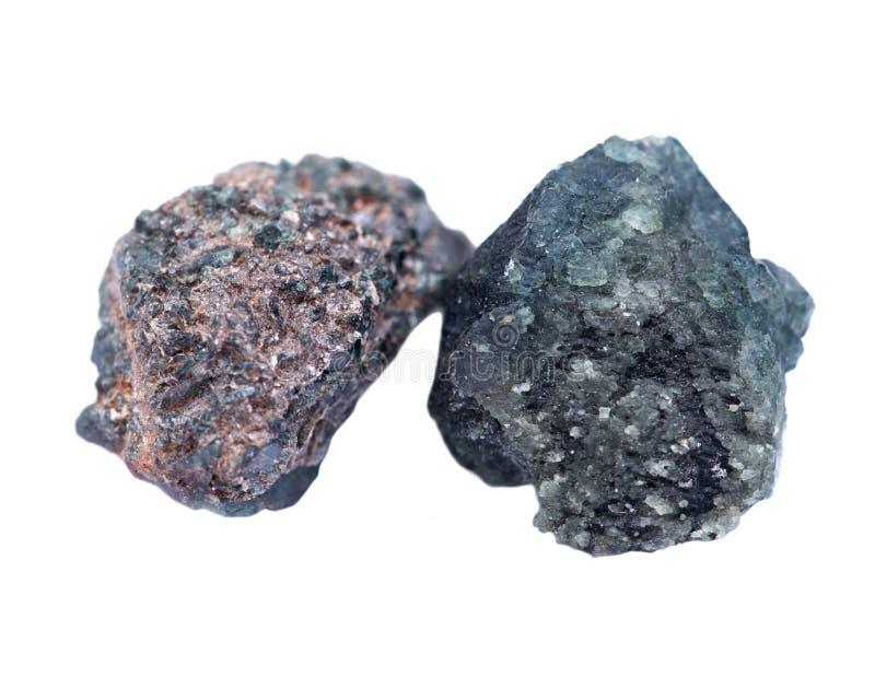 Gekristalliseerd alexandrite van Tanzania stock foto's