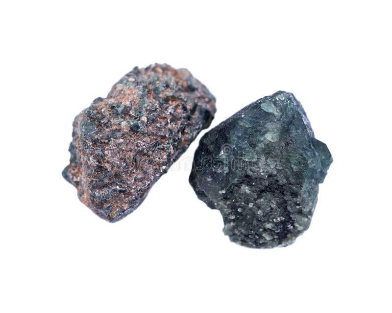 Gekristalliseerd alexandrite van Tanzania stock afbeeldingen