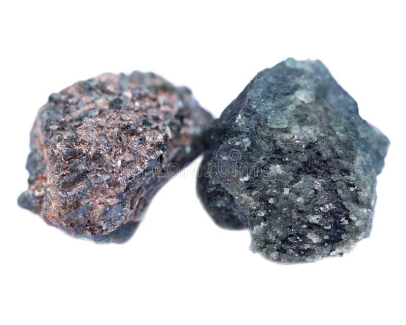 Gekristalliseerd alexandrite van Tanzania royalty-vrije stock foto