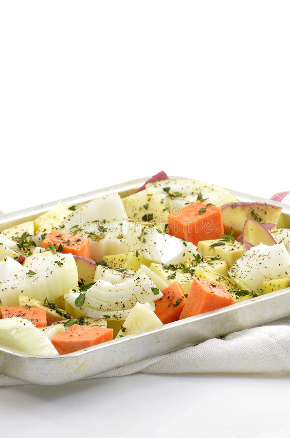 Gekruide groenten stock afbeeldingen