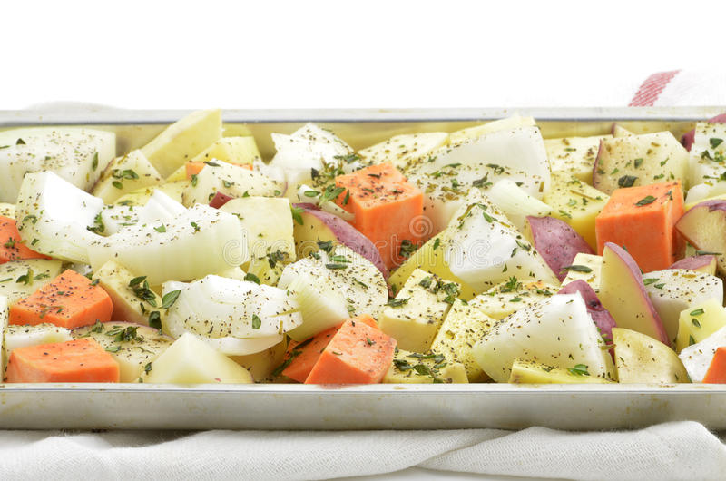 Gekruide groenten royalty-vrije stock foto