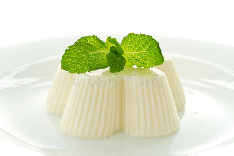 Gelée blanche laiteuse images libres de droits