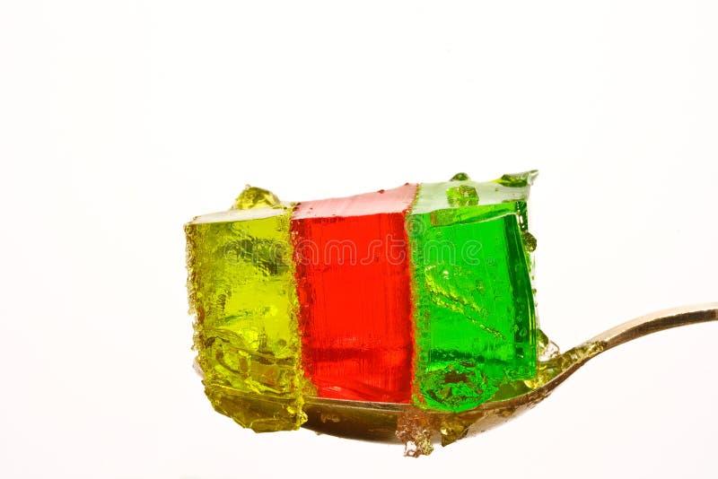Gelée tricolore photo libre de droits