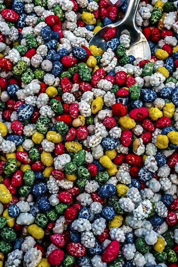 Gelées colorées 8 images stock