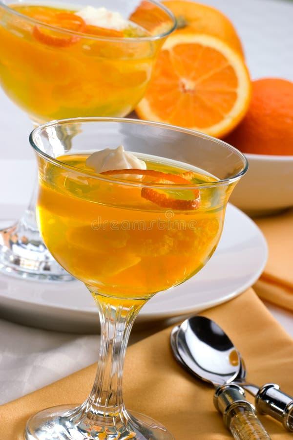 Geléia da laranja de Champagne fotos de stock royalty free