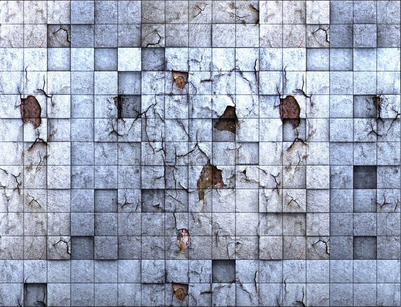 Gelöschte Wand stockfotografie