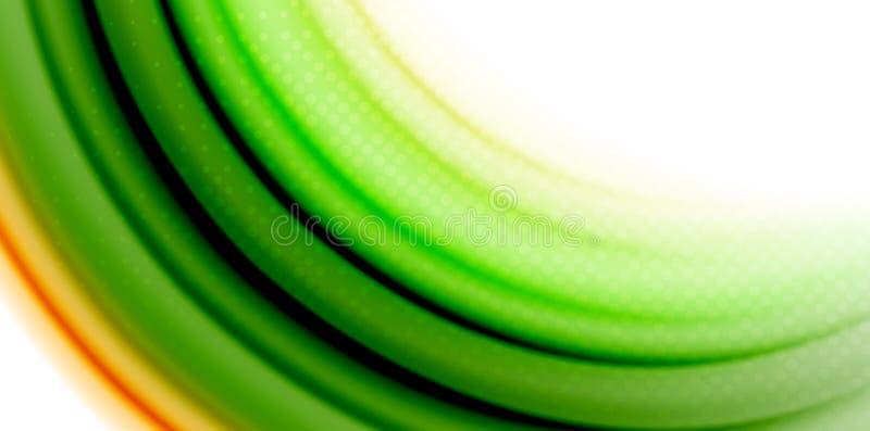 Gel bieżącego ciecza tęczy stylu galaretowi rzadkopłynni colours, falowy abstrakcjonistyczny tło, nowożytny minimalny kolorowy pr royalty ilustracja