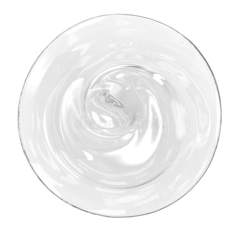 Gel cosmético isolado ilustração royalty free