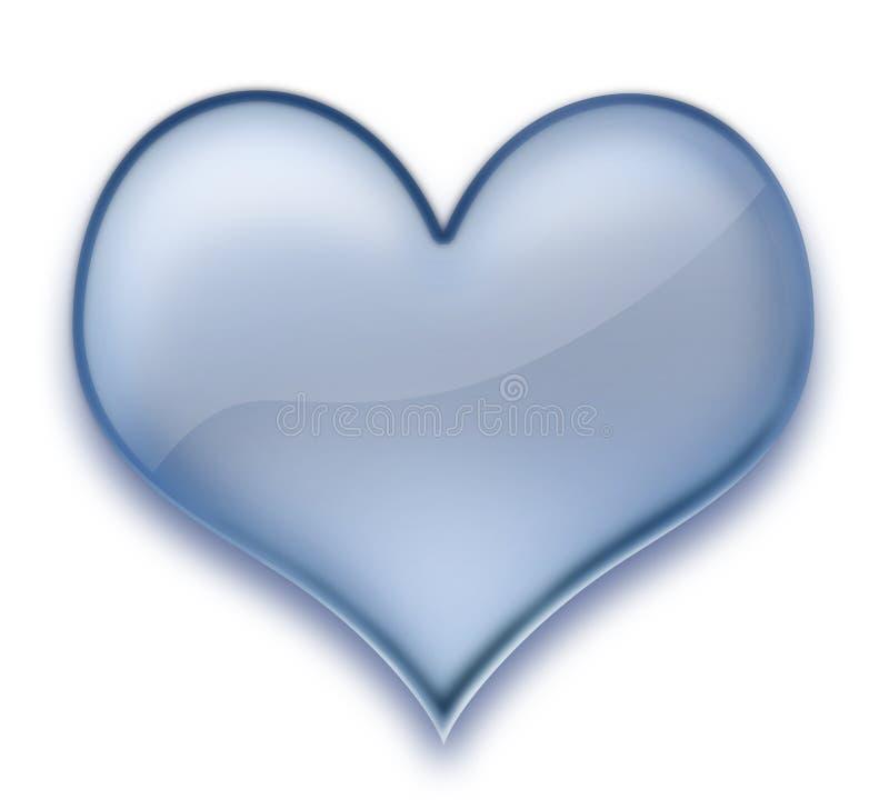 Gel do coração ilustração do vetor