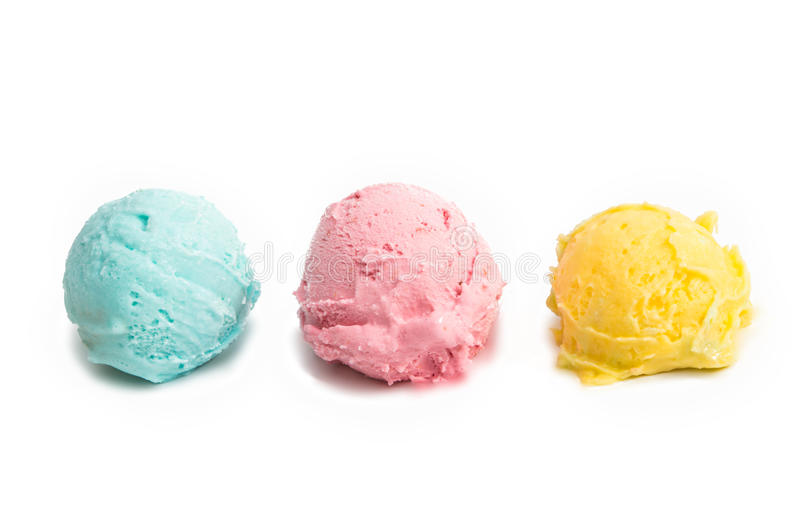 Download Gelado Multicolour isolado imagem de stock. Imagem de de - 80103049