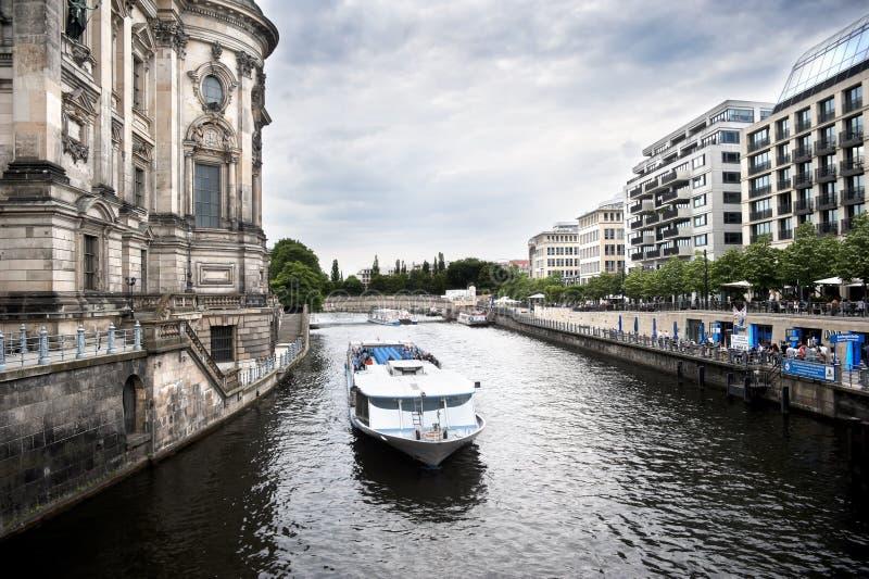 Gelagefluß, Berlin, Deutschland stockbilder