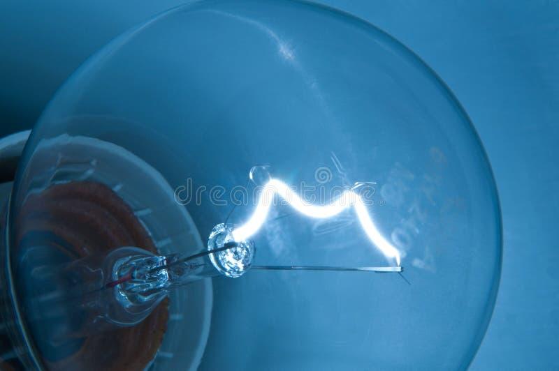Gelassen gibt es Leuchte. stockfoto