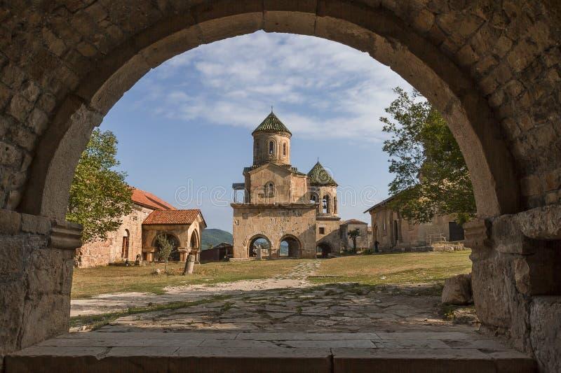Gelati-Kloster in Georgia stockbild