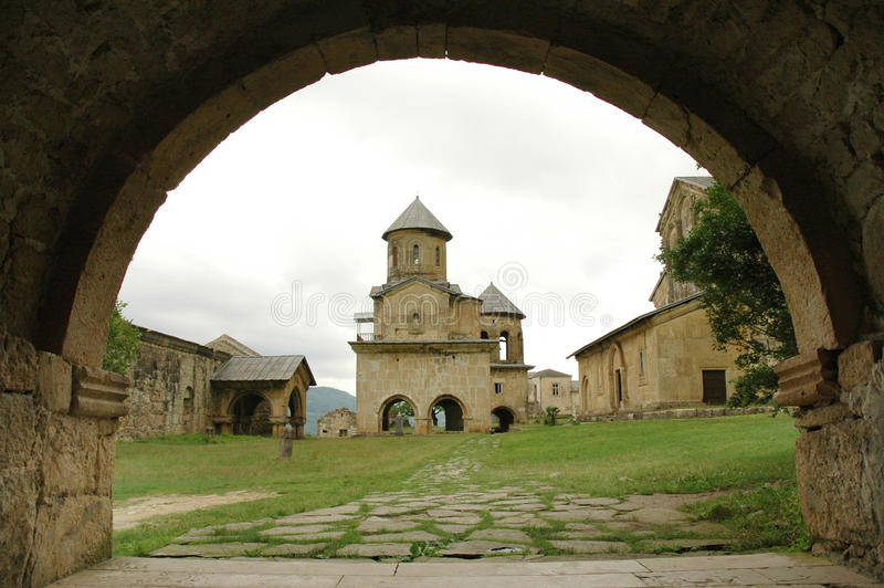 Gelati Kloster, Georgia lizenzfreie stockfotografie