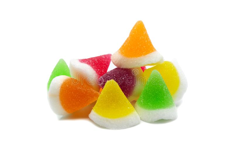 Gelatin jellies candy. royalty free stock photography