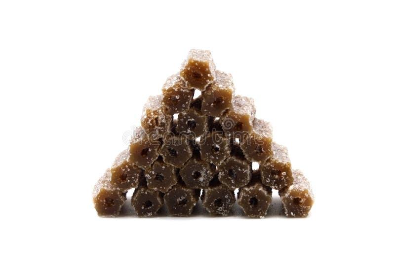 Gelatin jellies candy. royalty free stock photo