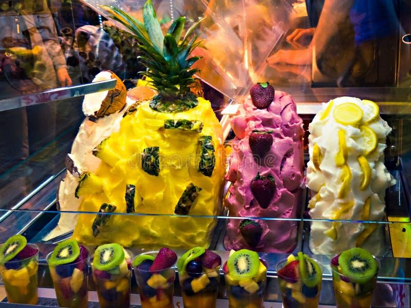Gelato冰淇凌 免版税库存图片