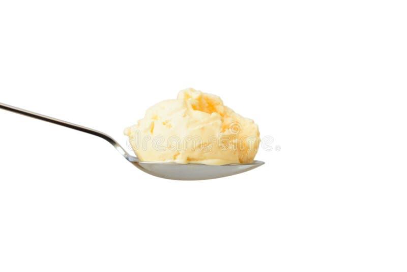 Gelato alla vaniglia immagini stock libere da diritti