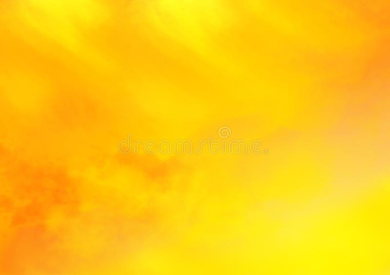 Gelb-orangeer strukturierter Hintergrundtapetenentwurf lizenzfreie abbildung