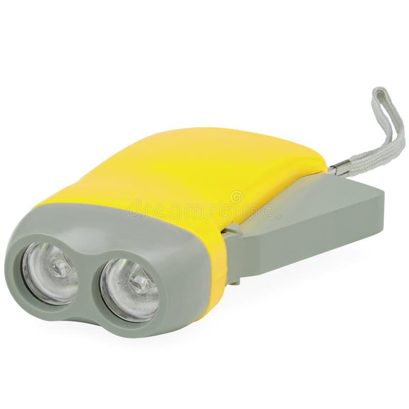 Gelb und Grey Kids Flash Light lizenzfreies stockbild