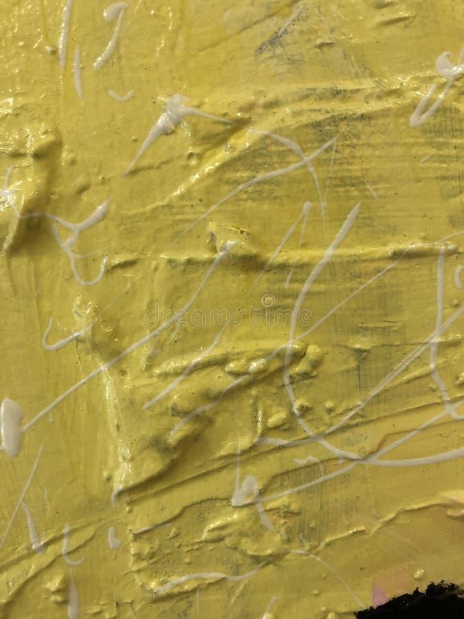 Gelbe Beschaffenheitsfarbe lizenzfreie stockfotografie