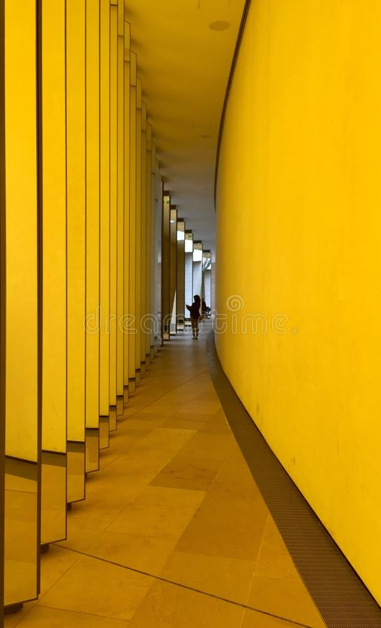 Gelbe Farbe stockbild