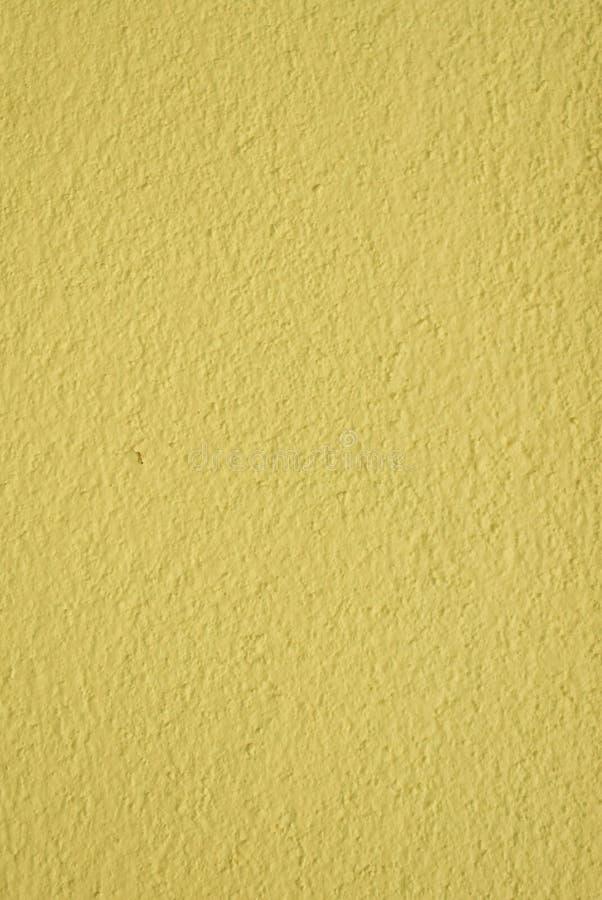 Gelbe Farbe der Wandfarbe stockfoto