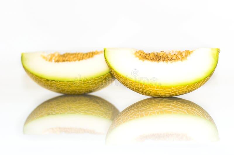 Gelbe Melone lizenzfreie stockbilder