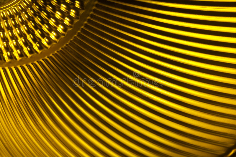 Gelbe metallische Beschaffenheit lizenzfreie stockfotos